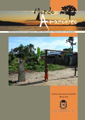 Revista Mundo Amazonico – PDF Completo - El IAEN y