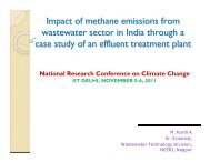 Impact of methane emissions from wastewater sector in India ...