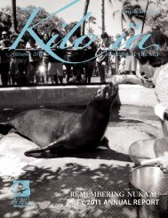 REMEMBERING NUKA'AU - Waikiki Aquarium