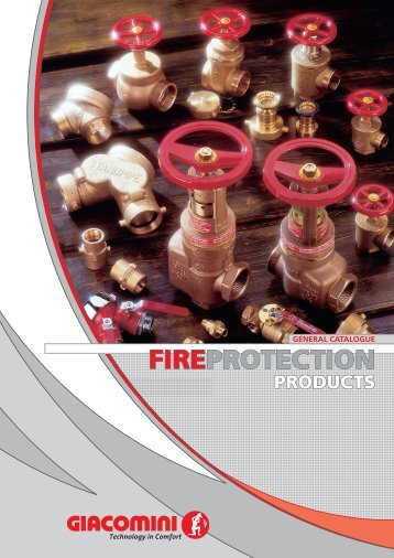 general catalogue fire protection products
