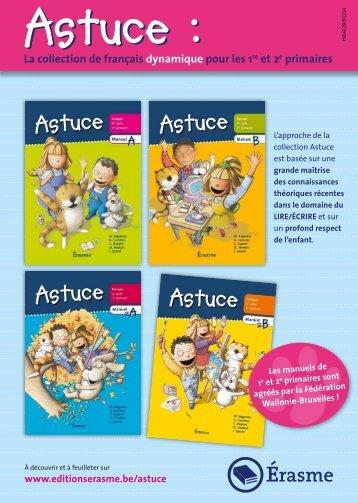 Dépliant promotionnel 2012 Astuce 1 & 2 - Averbode
