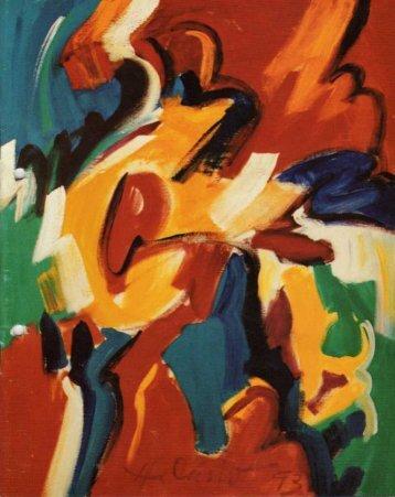 """Hilário Teixeira Lopes - """"Pintura """" - Movimento Arte Contemporânea"""