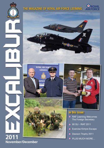 Excalibur Nov_Dec 2011 Issue Part 1 - RFCA