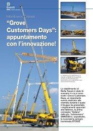 """""""Grove Customers Days"""": appuntamento con l ... - SCI Editrice"""