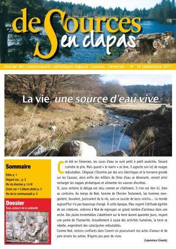 Sources en Clapas n°16