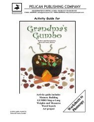 the Grandma's Gumbo study guide. - Pelican Publishing Company