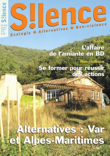 Alternatives : Var et Alpes-Maritimes Alternatives - Silence