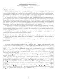 pontozási útmutató 2012. november 22. Általános alapelvek. A