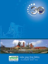 Final Annual Report 2011-2012 (Hindi).pmd - Vizag Steel