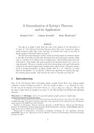 A Generalization of Kotzig's Theorem and its Application