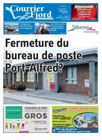 Page 3 - Courrier du Saguenay