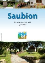 %XOOHWL QQ 0XQLFLSD OO QŸ -XLQ - Mairie de Saubion - Landes
