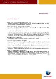 BOPE n°2012-35 du 13 avril 2012 - Pôle emploi