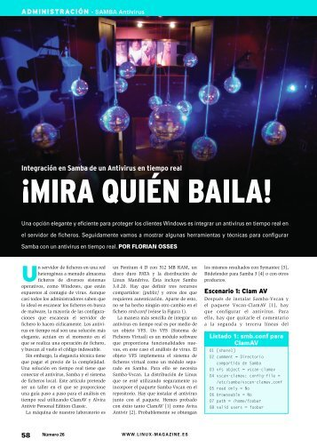 ¡MIRA QUIÉN BAILA! - Linux Magazine