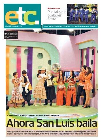Ahora San Luis baila - El Diario de la República