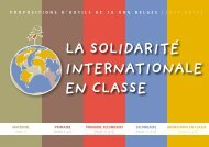 La soLidarité internationaLe en cLasse - Oxfam-Magasins du monde