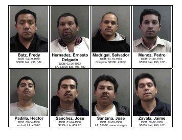 Batz, Fredy Hernadez, Ernesto Delgado Madrigal ... - City of Irvine