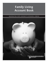 Family Living Account Book - Washington State University