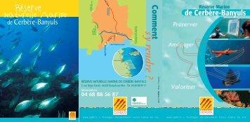PDF de la Réserve Marine Banyuls Cerbère en téléchargement
