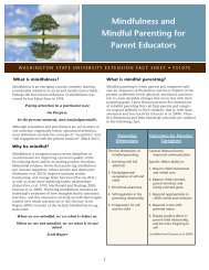 Mindfulness and Mindful Parenting for Parent Educators