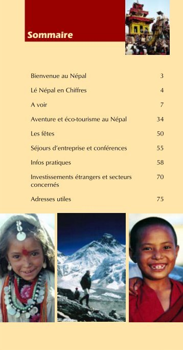 French Guidebook 1 - Nepal