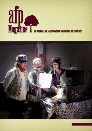 Lire le n°52 - AFP, Résidences retraite