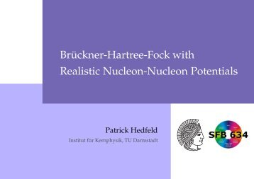 Br ¨uckner-Hartree-Fock with Realistic Nucleon-Nucleon Potentials