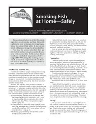 Smoking Fish at Home—Safely - Washington State University