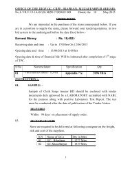 office of the digp gc, crpf, jhaphan, muzaffarpur (bihar). - Central ...