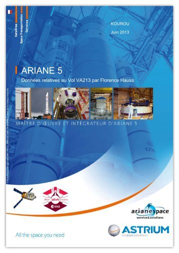 Dossier de vol - Astrium - EADS