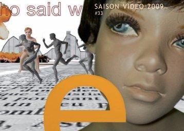 Saison Vidéo 2009