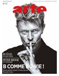 journÉe sPÉciale B comme Bowie - Source - Arte