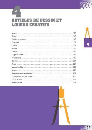 ARTICLES DE DESSIN ET LOISIRS CREATIFS - Papeterie7