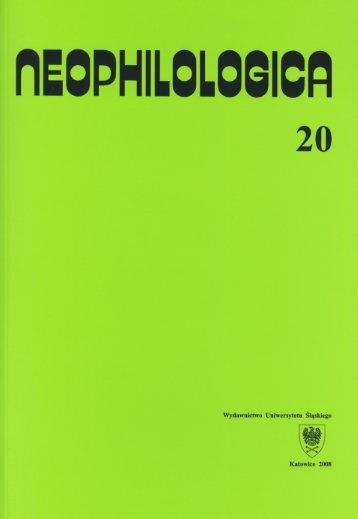 volume 20 Études sémantico-syntaxiques des langues romanes