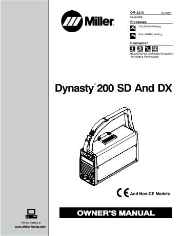dynasty 200 sd and dx miller electric?quality\=85 miller rfcs 14 parts wiring diagrams wiring diagrams  at soozxer.org