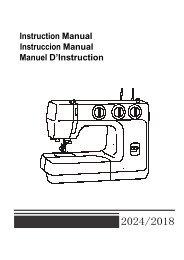 Instruction Manual Instruccion Manual Manuel D ... - M6 Boutique
