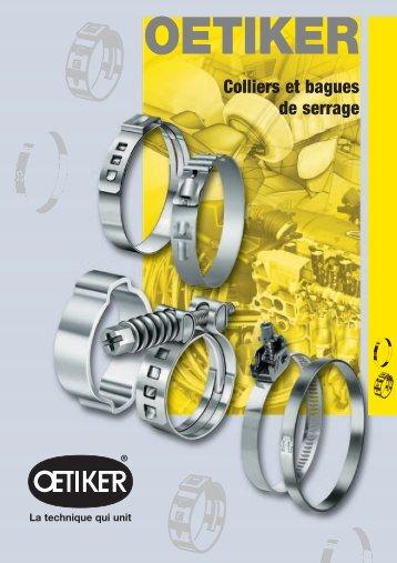 Colliers et bagues de serrage - Allert GmbH & Co. KG