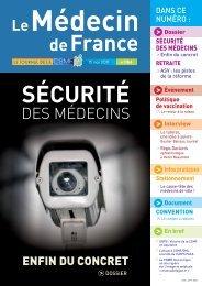 Médecin de France n°1166 - CSMF