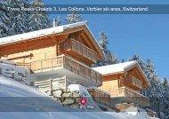 Three Peaks Chalets 3, Les Collons, Verbier ski area ... - Alp Village
