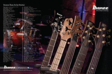 Ibanez Bass Artist Roster