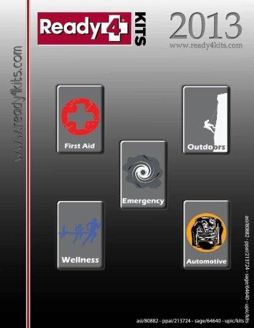 First Aid - Ready 4 Kits
