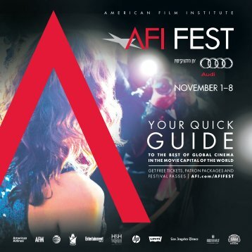 AFI_FEST_2012_Quick_Guide