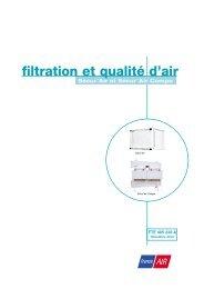 filtration et qualité d'air - France Air