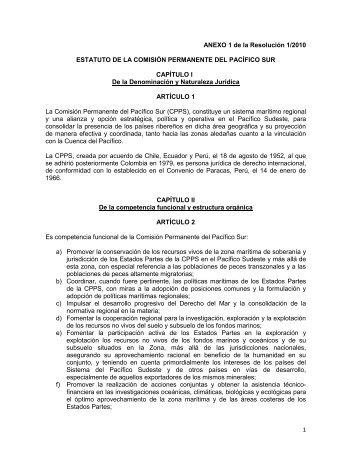 Reformas al Estatuto y Reglamento de la CPPS