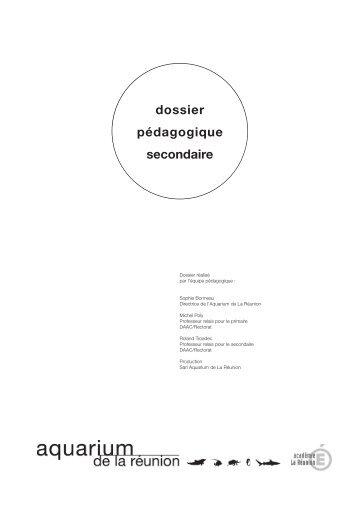 Dossier pédagogique Secondaire - Aquarium de La Réunion