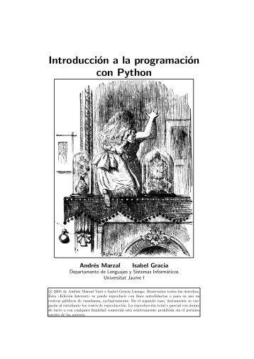 Descargar Libro Introduccion a la Programacion con Python