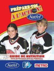 Guide de nutrition - Hockey Québec