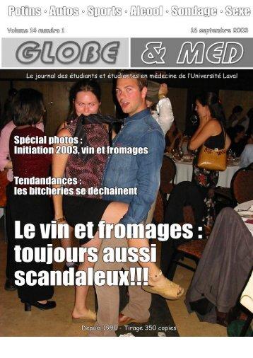 Globe version PDF - Faculté de médecine - Université Laval