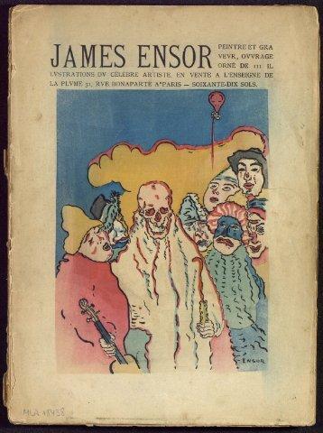 JAMES ENSOR - Archives et musée de la littérature