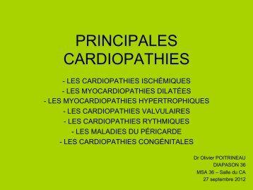 PRINCIPALES CARDIOPATHIES